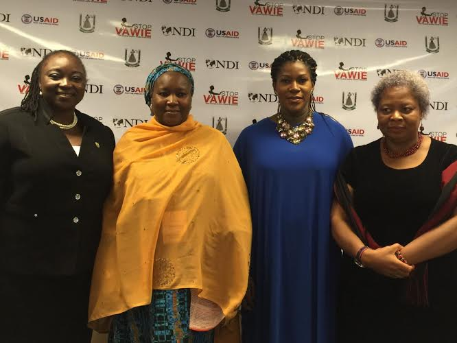 NDI & USAID Announces Stephanie Linus As Ambassador for the 'Stop Violence Against Women In Elections' Campaign
